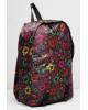 Рюкзак молодежный 28*10*42см на молнии 3 карм. черный цветные звезды 2318042