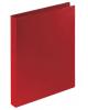 Папка 4 кольца 25мм Staff красная до 180 листов 0,5мм 225726