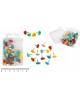 Кнопки силовые 35 шт с сердечком цветные 10256  J.Otten 1/10