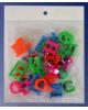 Магнитный набор 'Буквы' 0178 пластик