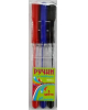 Ручка шар 3 цв 9020-3 0,7мм  J Otten