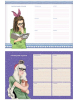 Расписание уроков А4 'Девчонки' 15175