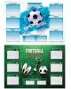 Расписание уроков с расписанием звонков А3 'Спорт. Футбол' 257795