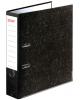 Папка-регистратор 70 мм STAFF с мраморным покрытием с уголком черный корешок 227187