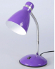 Настольная лампа 'Элегия' 1x60W E27 фиолетовая 14,5x14,5x41см 2815774