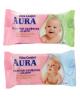 Салфетки влажные для детей 'AURA ULTRA COMFORT', 15 шт, микс 784669