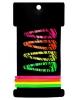 Заколки для волос 'Кари' (набор 8 шт.) 4,5 см и 6,5 см, яркие, зебра 1838402