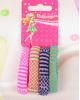 Резинка для волос 'Махрушка нежная' точка (набор 4 шт) 2315901