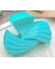 Краб для волос 'Цветной глянец' 7,8 см волна, микс 3502084
