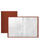 Папка 10 файлов красная  А4 0,5мм М-1604