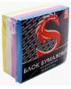 Блок бумажный 4-х цветный 8*8*3,5см. 80 гр. SPC883c