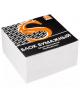 Блок бумажный белый проклееный, 9*9*5см. 65гр. SPC995p