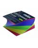 Блок бумажный 4-х цветный спираль 8*8*4см 80гр. IPC884cS