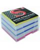 Блок бумажный 4-х цветный проклееный, 9*9*5см. 65 гр. SPC995c/gd