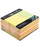 Бумага для заметок с липким слоем желтая пастельная. 76*75 мм 433811