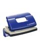 Дырокол 10л синий метал. с линейк Silwerhof Debut 392029-02