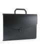 Портфель пласт. А4 0,7мм 13 отд. черный ВРР13blck Бюрократ