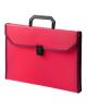 Портфель пласт. А4 0,7мм 6 отд. c окантовкой красный ВРР6Lred