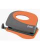 Дырокол 10л  пластик. корпус серый/оранжевый С9570 FUSION IFP700GY/OR