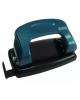 Дырокол 12л. металл. корпус METALLIC синий (линейка+ фиксатор) IMP310/BU