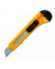 Нож канцелярский 18мм с насечками наручке SC023