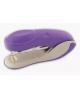 Степлер №24/6 на 20л. пластиковый корпус неон фиолетовый COLOURPLAY ICS600/VL