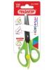 Ножницы 13см. с усилителем, линейкой, зеленые 236857 Пифагор