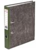 Файл 50 мм BRAUBERG с мраморным покрыт. зеленый кор. 220985