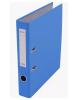 Папка-регистратор 50мм разбор. метал окантовка голубой с карман AF0601-LB Lamark