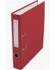 Папка-регистратор 50мм  разбор.метал окантовка красный с карман AF0601-RD Lamark