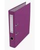 Папка-регистратор 50мм разбор.метал окантовка фиолетовый с карман AF0601- VL  Lamark
