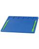 Дощечка для пластилина А5 Юнландия 200*170мм синяя  2стека 227398