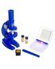 Микроскоп детский 3 объектив фокусировка подсветка 2664201