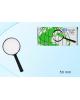Лупа 50мм классическая руч.круглая в пластмас. оправе  МС-3906