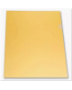 Папка-уголок А4 180 мкм Желтый Е 310/1YEL Бюрократ