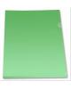 Папка-уголок А4 180 мкм Зеленый Е 310/1GR Бюрократ