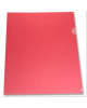 Папка-уголок А4 красный 180 мк Е 310/1RED Бюрократ