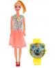 Кукла модель 'Софи' в платье цвета Микс 2677597