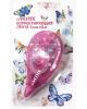 Корректирующая лента 5мм* 6м Butterfly, розовый прозрачный корпус, фронтальный аппликатор, 4062802