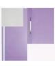 Папка-Скоросшиватель А5  Хатбер фиолетовый пластик. AS00107