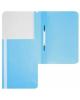 Папка-Скоросшиватель А5 Хатбер голубой пластик. AS00110