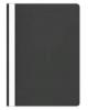 Папка-Скоросшиватель А4 100/120 мкм черная пластик AS4_04601
