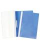Папка-Скоросшиватель А4 100/120 мкм. синяя пластик AS4_04602