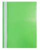 Папка-Скоросшиватель А4 100/120мкм зеленая пластик AS4_04604