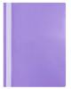 Папка-Скоросшиватель А4 100/120 мкм. фиолетовая пластик AS4_04607
