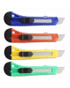 Нож канцелярский 18мм эргоном. форма ручки М-6304