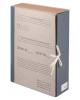 Короб архивный Staff 8см х/б с завязками переп. картон 126902