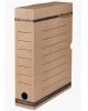 Короб архивный с клапаном Brauberg 75мм микрогофрокартон плотный до 700л бурый  126509