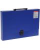 Папка портфель синий А4 Classic 43074