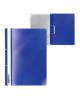 Папка-Скоросшиватель А4 с перфорацией синий Economy 46115 1/20